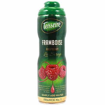 Teisseire French Raspberry Syrup 20 oz