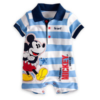 Disney Mickey Mouse Polo One Piece for Baby - Personalizable | Disney Store