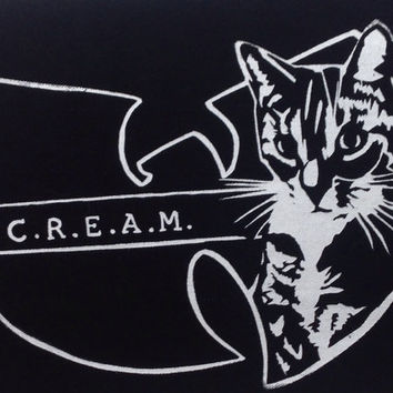 C.R.E.A.M. Cats Rule Everything Around Me back patch