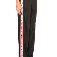 Givenchy Band Track Pant in Black | FWRD