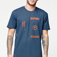 SUPERbrand Supa T-Shirt - Mens Tee - Blue