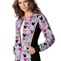 Buy Disney Women Zip Front M-I-C-K-E-Y Warm-Up Jacket for $26.95
