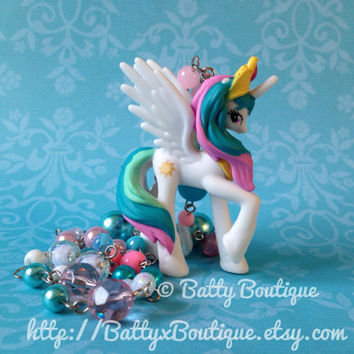 Princess Celestia - RARE - My Little Pony Necklaces - MLP:FiM