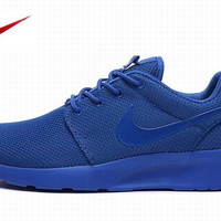 Nike Blue Roshe Mens Running Shoes