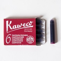Kaweco Refill Fountain Pen Ink Cartridges 6 pack Ruby Red