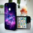 10229 Purple Galaxy Nebulla - iPhone 4/4s Case