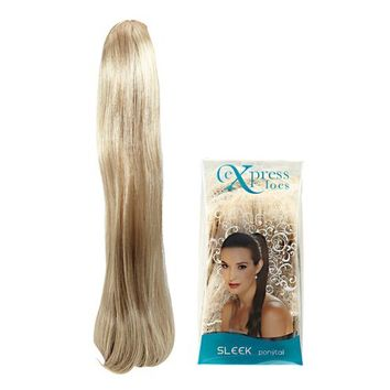 ExpressLocs Ponytail Clip-in Sleek Hairpiece Dark Blonde