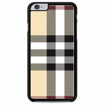 Burberry Pattern iPhone 6 Plus/ 6S Plus Case