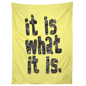 Romi Vega What It Is Yellow Tapestry