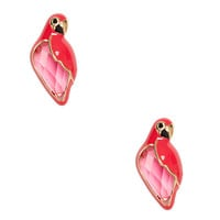 out of office parrot studs