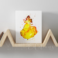 Belle 2, Beauty and the Beast Gallery Wrapped Canvas