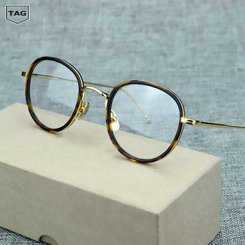 2017 high quality Retro glasses frame T905 Goggles Myopic computer Glasses transparent oculos de grau men women optical glasses