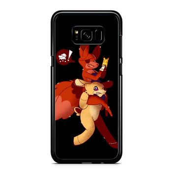 Five Night Freddys Playing Pokemon Go Samsung Galaxy S8 Plus Case