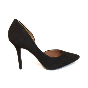 Steve Madden Insaniti - Black Patent Pointy Toe High-Heel Pump