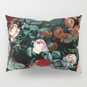 NIGHT GARDEN XXV Pillow Sham by Burcu Korkmazyurek