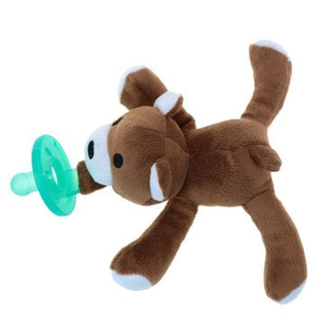 Plush Animals With Pacifier for Infants 7 Options