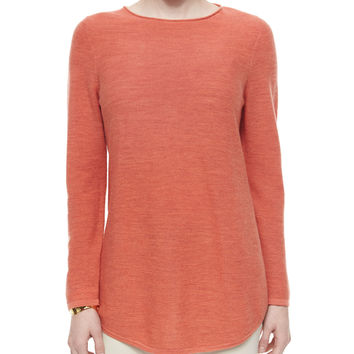 Long-Sleeve Merino Wool