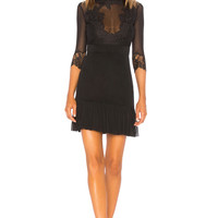 Hot As Hell Reversible Bow Down Dress in Noir