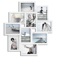 Multi Photo Display Collage Wall Frame