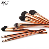 Extremely Soft Synthetic Makeup Brush Set 8 Pieces Brochas Maquillaje Rose Gold Make Up Brushes