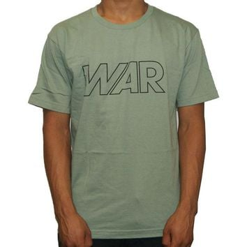 ONETOW Undefeated War Tee In Sage