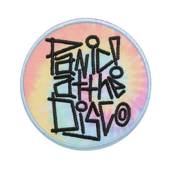 Panic! At The Disco Tie-Dye Iron-On Patch