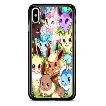 Eeveelution Eevee Vaporeon iPhone X Case