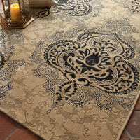 Safavieh - Outdoor Damask Rug - Horchow