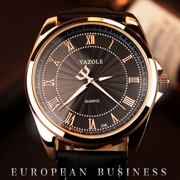 YAZOLE Luminous Watches for Men