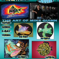 Fish with Attitude - Original Sculptures by Mike Quinn