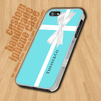 Blue Box Present Tiffany - iPhone 4   4s Case - iPhone 5 Case - 7095661ea