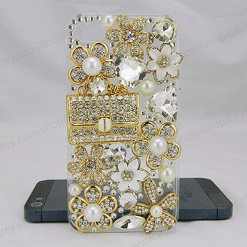 Crystal Wallet bling iPhone case,bling iphone 6 case,Crystal iphone 6 Plus,Rhinestone iphone 5/5S/5c,iphone 4 case samsung galaxy S3/S4/S5