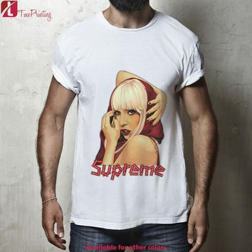 Lady Gaga Supreme, Joanne Gaga Shirt, Supreme x Lady Gaga for Men T-Shirt, Women T-Sh