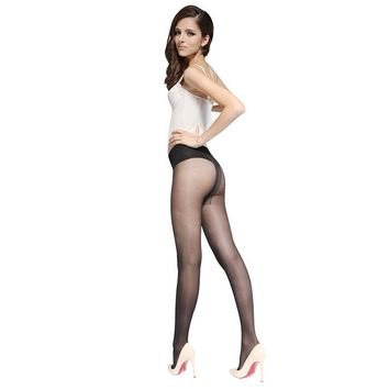 MISILCK 7D nylons lady pantyhose,Leg shaping silk stockings,compression tights fishnet  Summer 2 Pieces