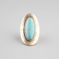 Full Tilt Turquoise Ring Gold One Size For Women 23537562101
