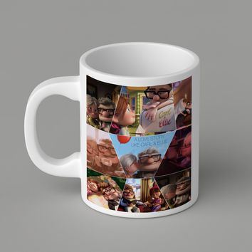 Gift Mugs | A_Love_Story_Carl_And_Ellie_Up_Movie Ceramic Coffee Mugs