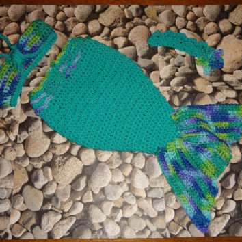 Shop Crochet Mermaid Photo Prop On Wanelo