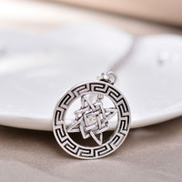 Necklace Pendants Fashion Jewelry Women Men Gift Vintage Trendy Sliver Plated Jewellery Accessories Locket Pendant Necklaces
