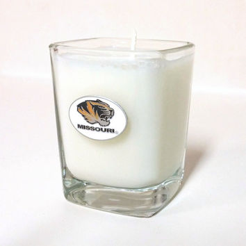 Missouri Tigers Candle - Soy Shot Glass Candle - CHOICE OF SCENT