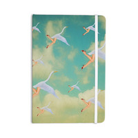 "Natt ""Swan"" Teal Yellow Everything Notebook"