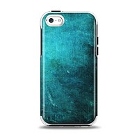 The Grunge Green Textured Surface Apple iPhone 5c Otterbox Symmetry Case Skin Set