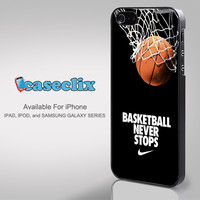 Nike-Basketball-Never-Stop for Smartphone Case