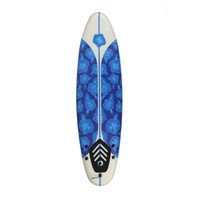 North Gear 6 ft Foam Surfboard Blue/White