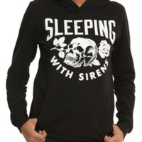 Sleeping With Sirens Skull Rose Girls Hoodie