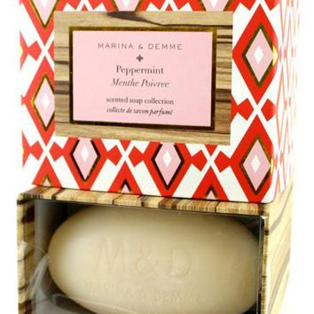 Marina & Demme Peppermint Scented Soap Set of 2