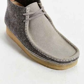 Clarks Wool Wallabee Boot