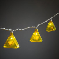 Legend of Zelda Triforce String Lights