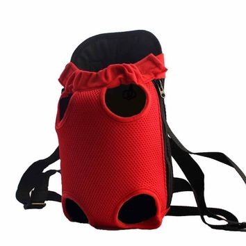 Lightweight Mesh Dog Backpack