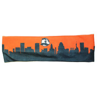 Natty Boh Skyline (Orange) / Headband