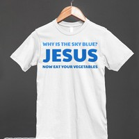 The Answer To Everything-Unisex White T-Shirt